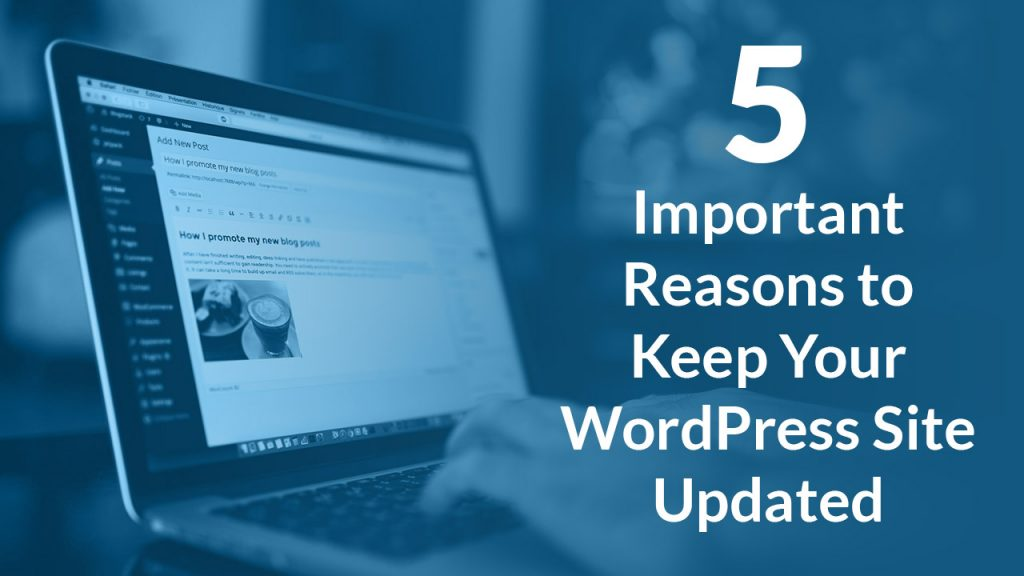 5 Important Reasons to Keep Your WordPress Site Updated